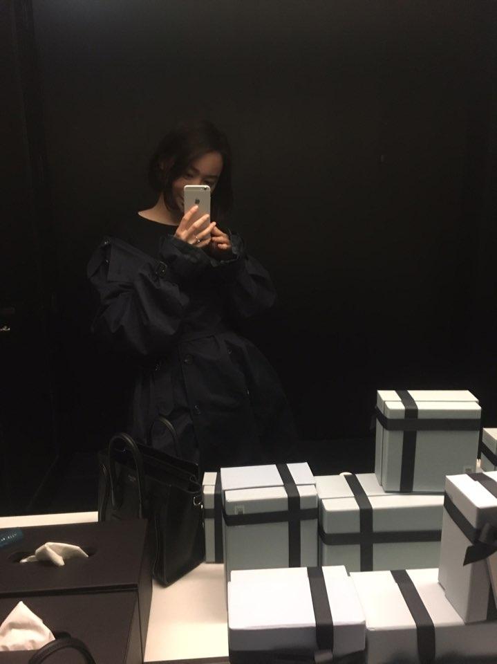 #데일리룩, 로에베에서 옷처음 사봄+위시리스트