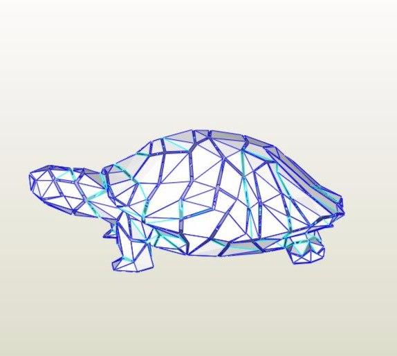 거북이 페이퍼크래프트