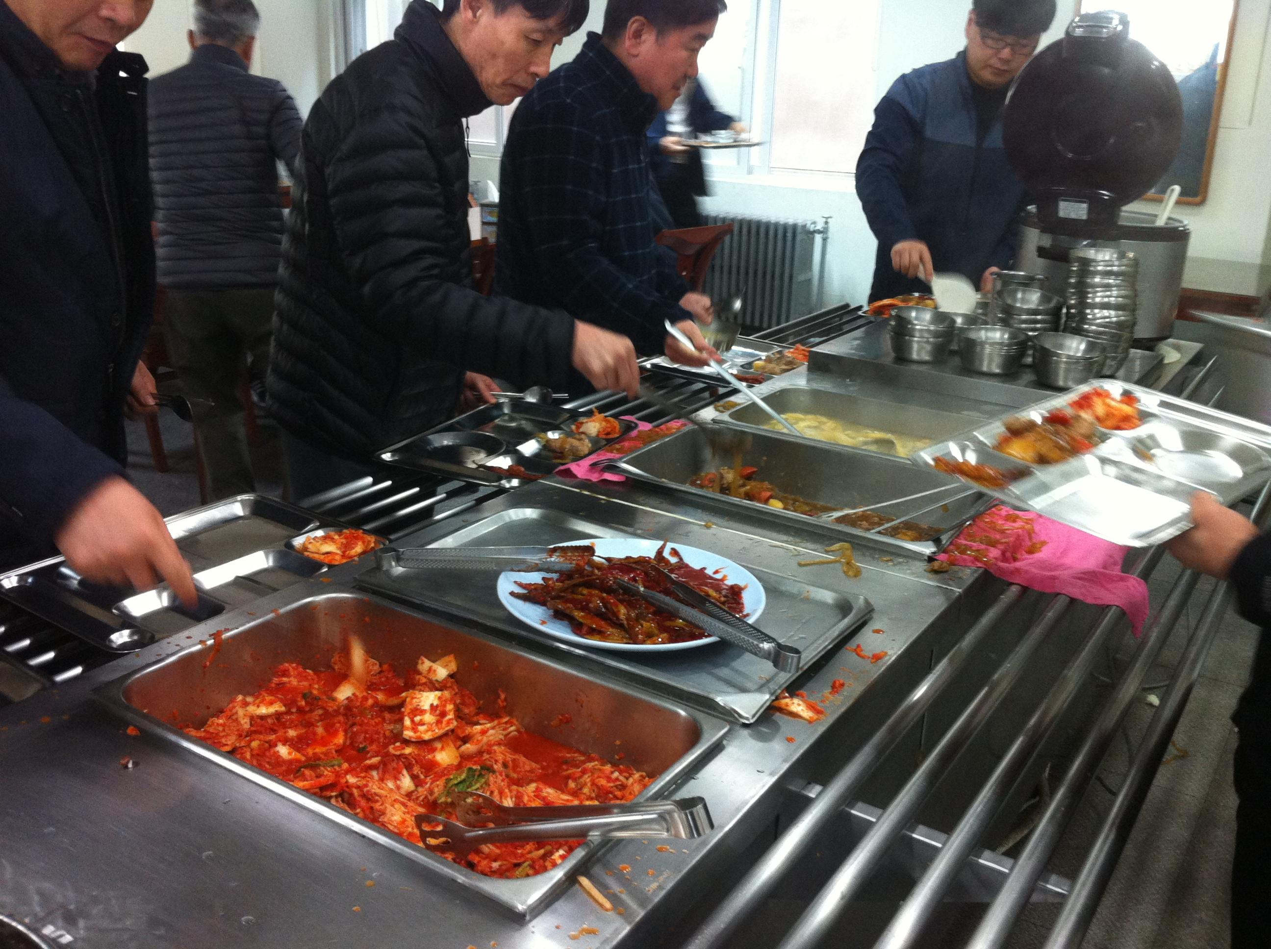 마지막 철창밥, 아듀 용산경찰서 구내식당