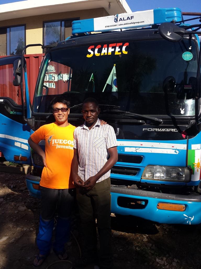 [탄자니아] 피어스와 트럭