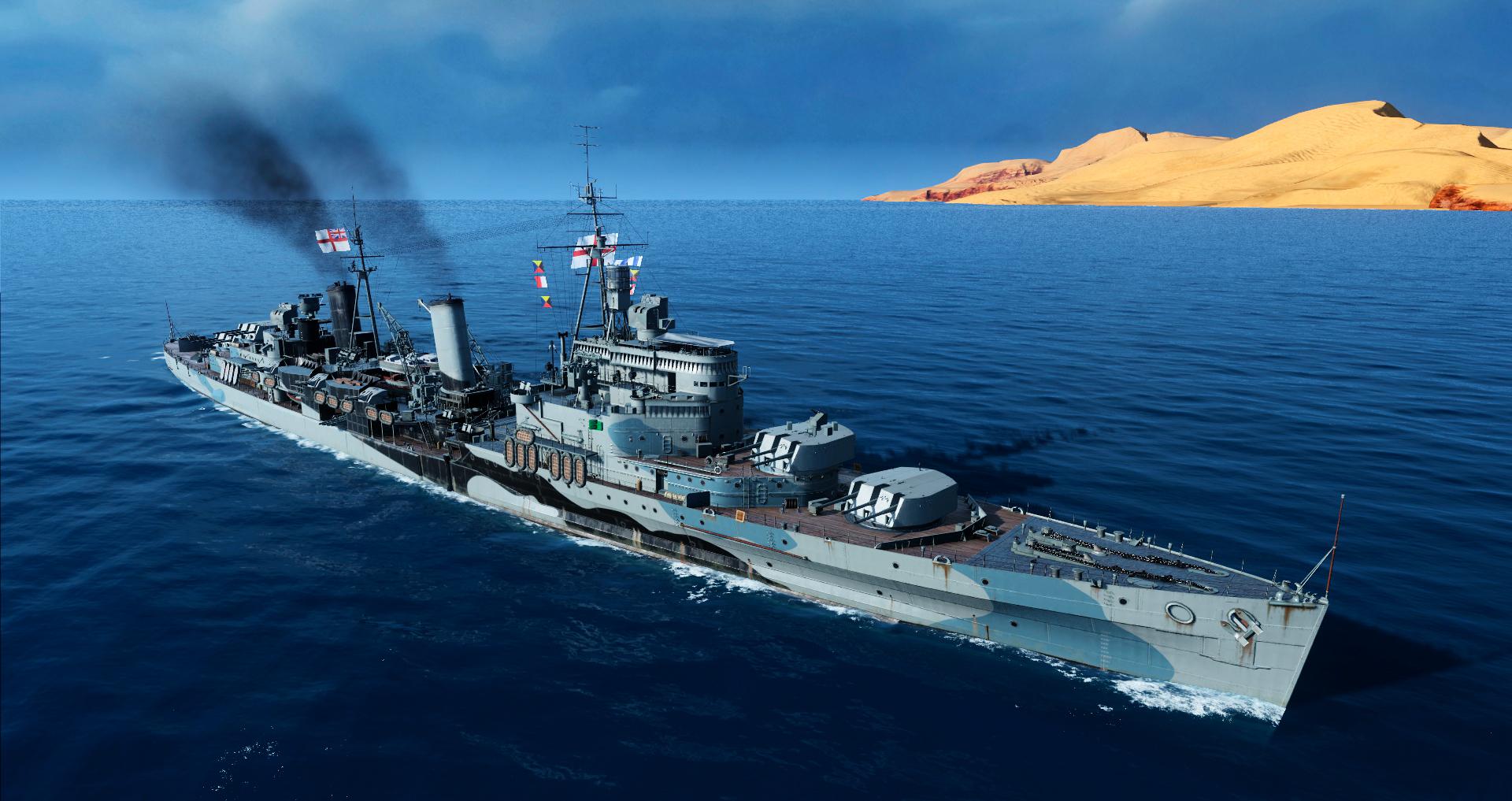 [WOWs] HMS 에든버러 취역