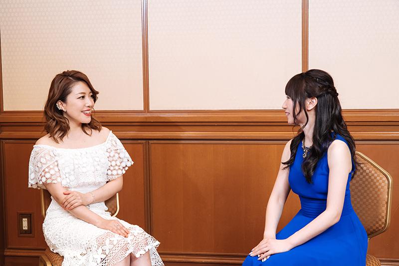 성우 미즈키 나나 & 히라하라 아야카씨의 사진, ..