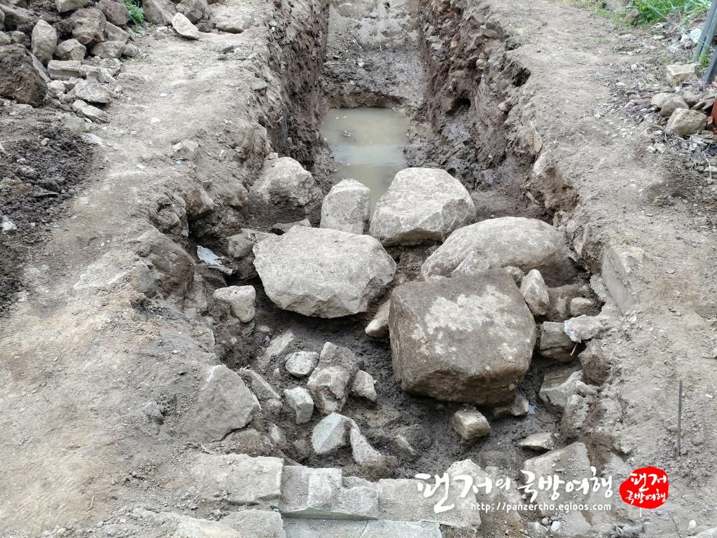 창원읍성 동문지 시굴조사