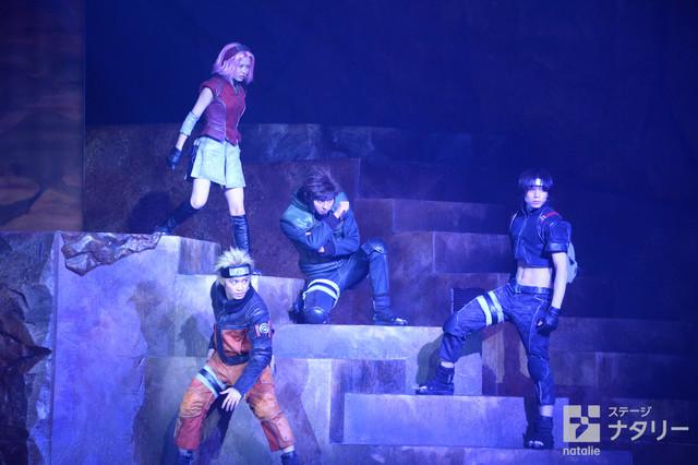 2017년 5월 19일 개막, 나루토 신작 무대 공연 관련 사진