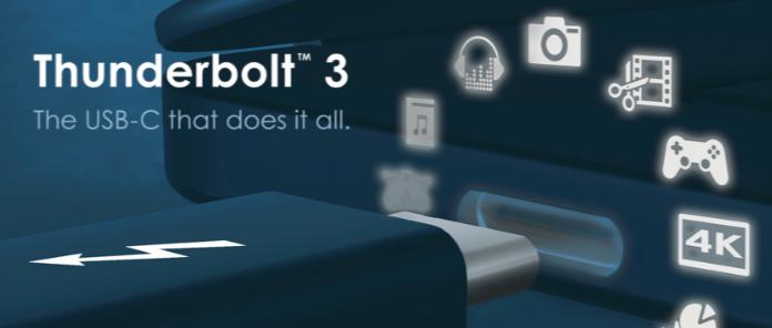 USB 기술의 또 다른 승리 - 썬더볼트3 기술개방