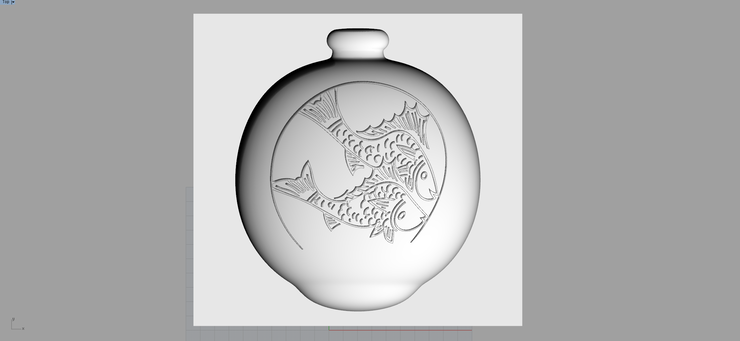 (cnc가공) 그릇 석고 원형 모델링 및 제작