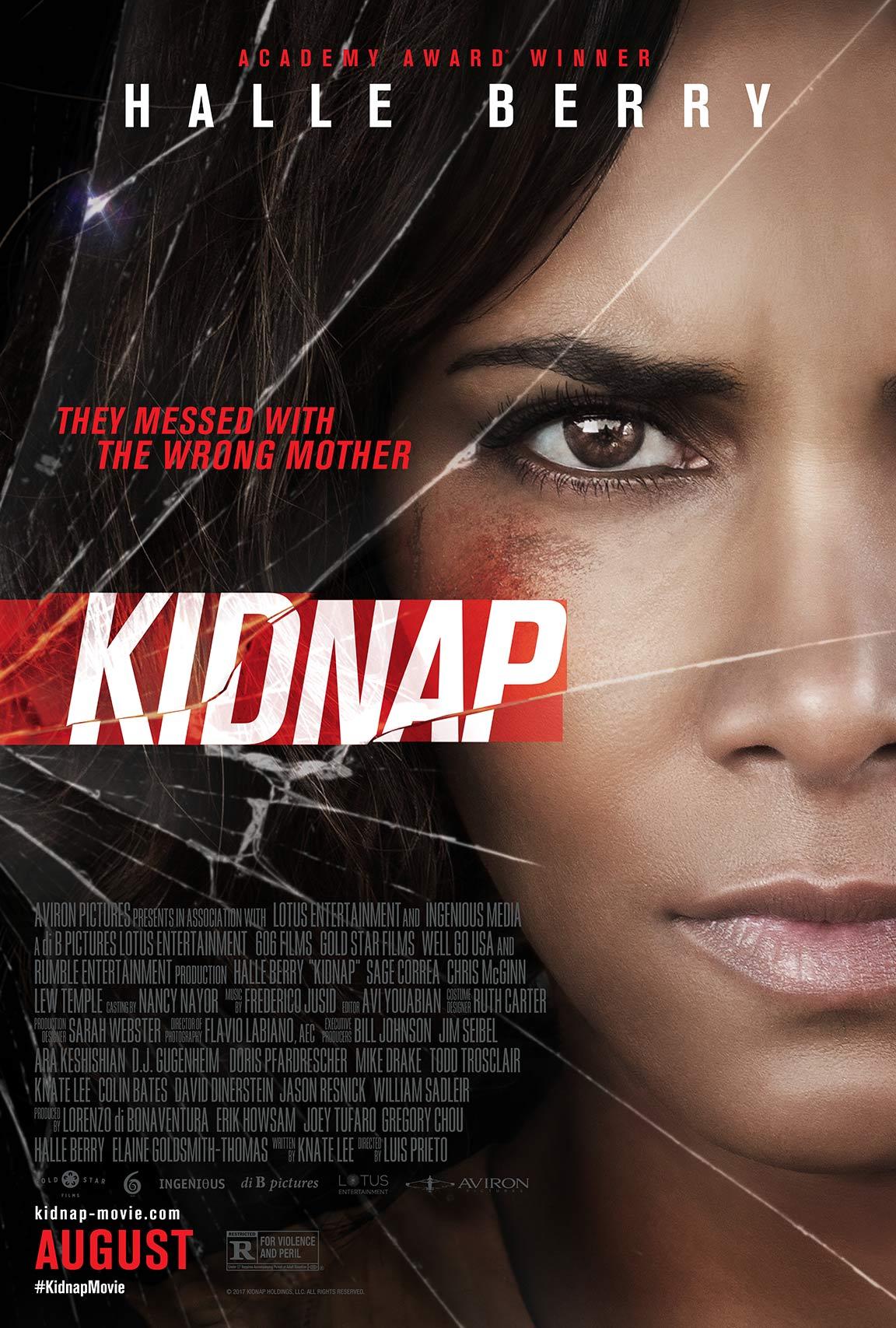 """할리 베리의 신작, """"Kidnap"""" 입니다."""