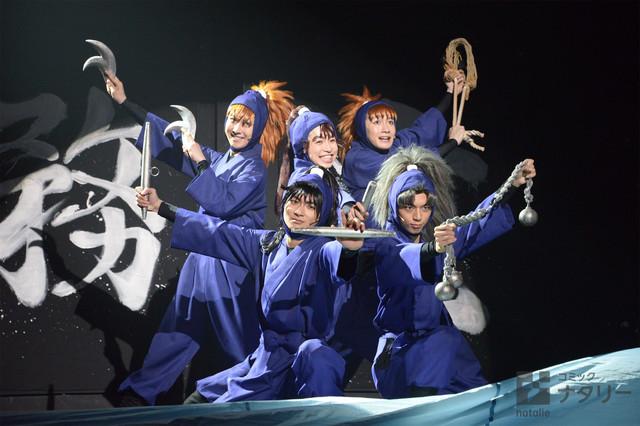 뮤지컬 닌타마 란타로 제 8탄의 재공연이 개막되었..