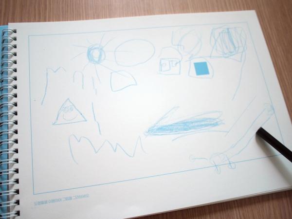 [장욱진스케치북] 도형, 스티커, 사람