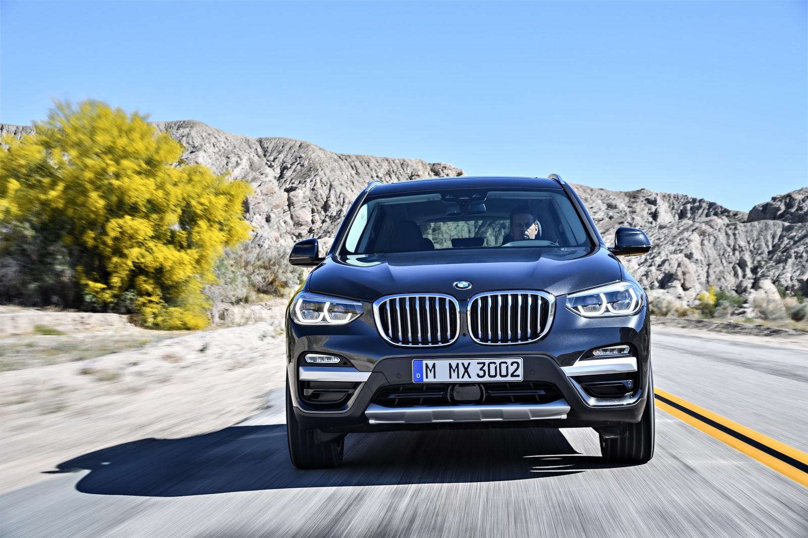2018 BMW X3 공개