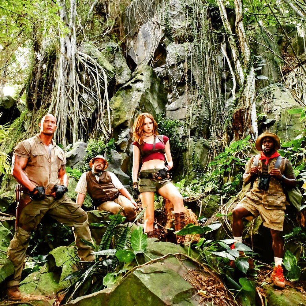 """Jumanji : Welcome To The Jungle"" 예고 영상.."