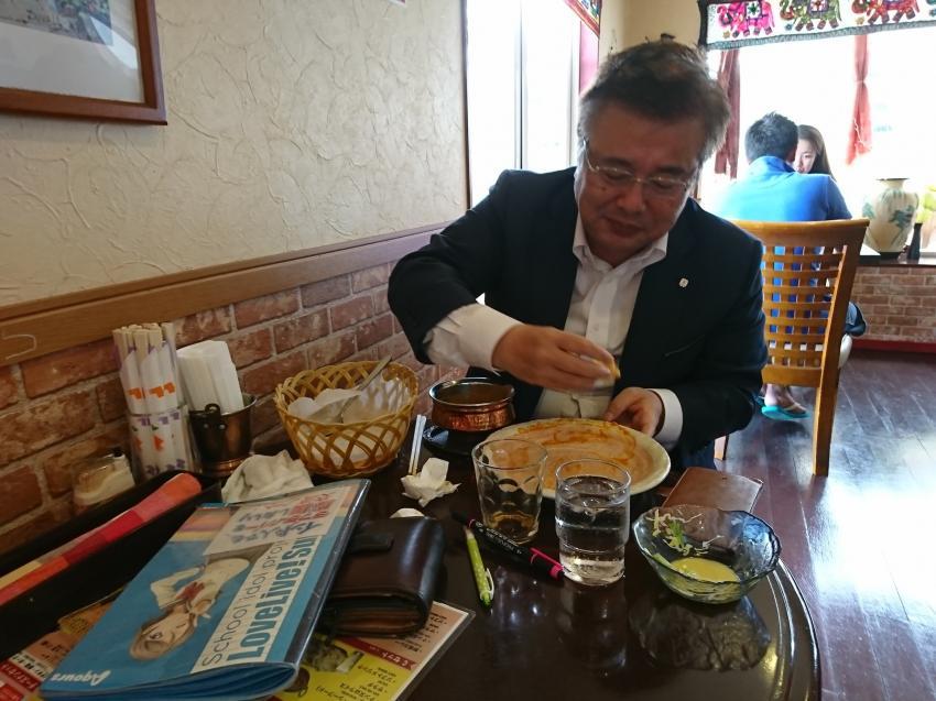 러브라이브 - 동네의 작은 인도요리점에서 밥먹는..