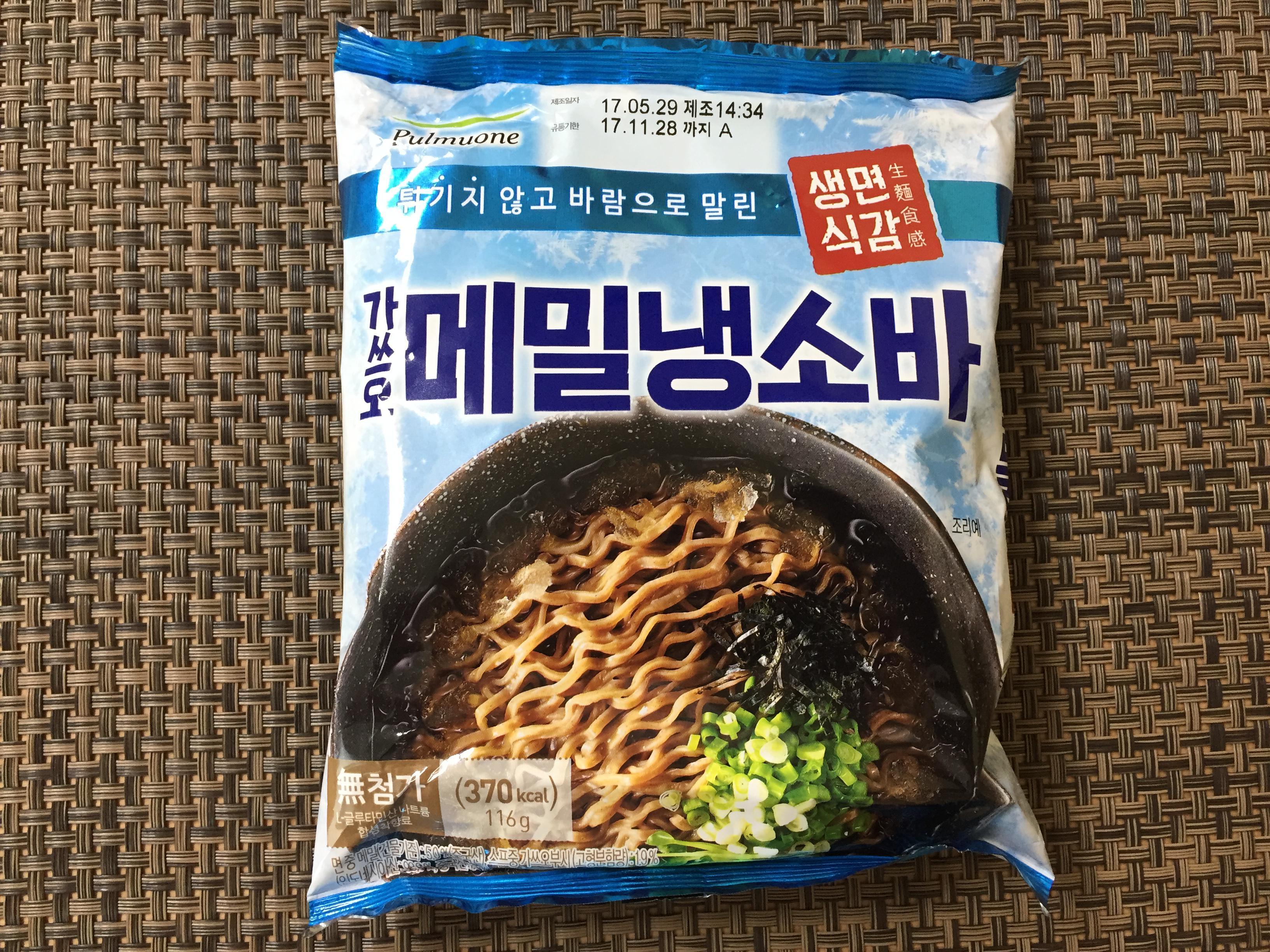 여름의 맛, [풀무원] 가쓰오 메밀 냉소바