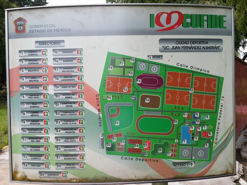 [멕시코] Ciudad Deportiva Juan Fernande..