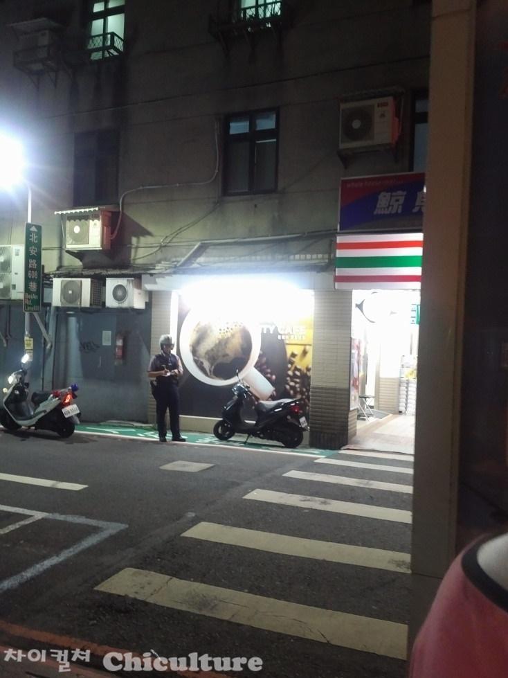 오토바이 무단주정차도 칼같이 단속하는 대만경찰