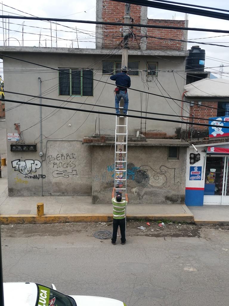 [멕시코] 메가 까블레(Mega Cable) 인터넷 설치