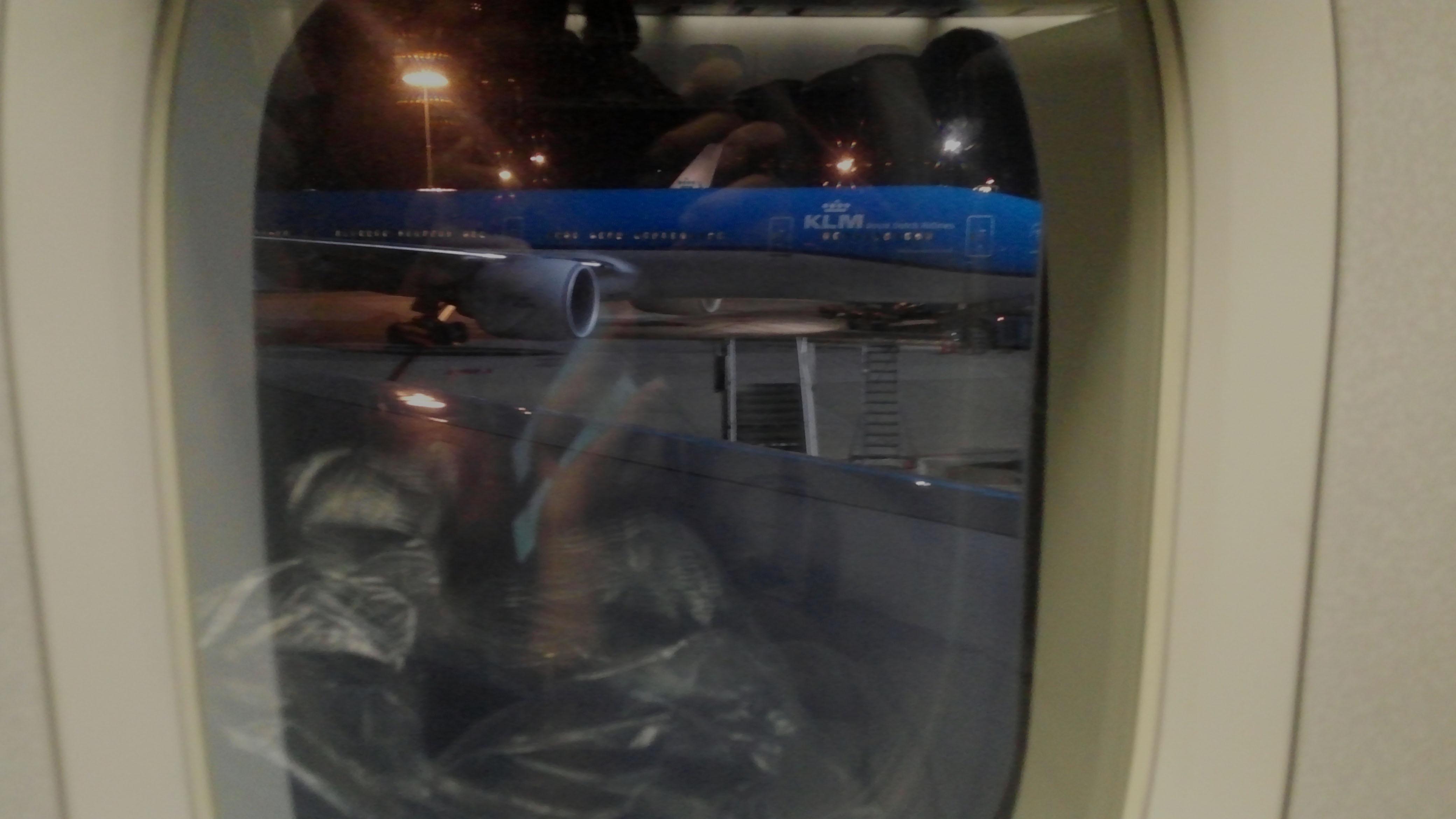 한국으로 돌아가자, 암스테르담-인천 비행편