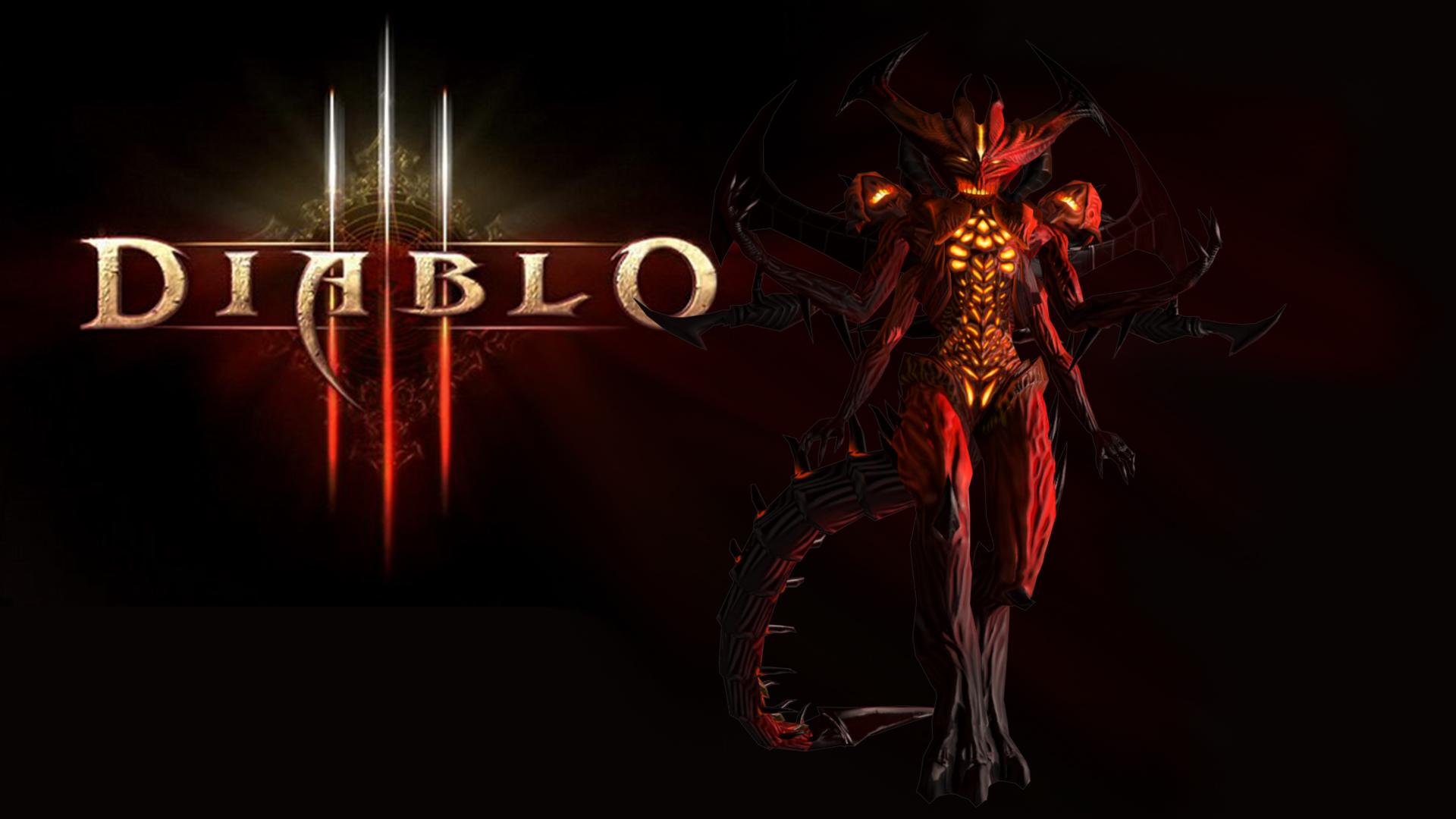 두번째 작품 (Diablo lll 의 디아블로)