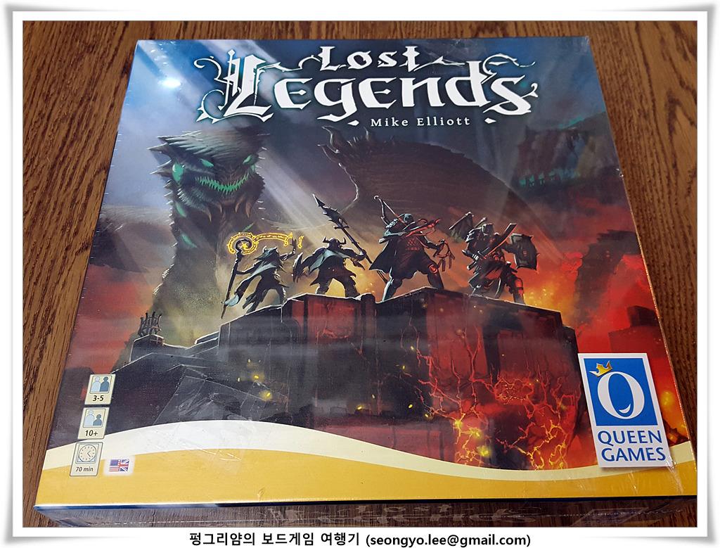 [컴퍼넌트] 로스트 레전드 (Lost Legends, 20..