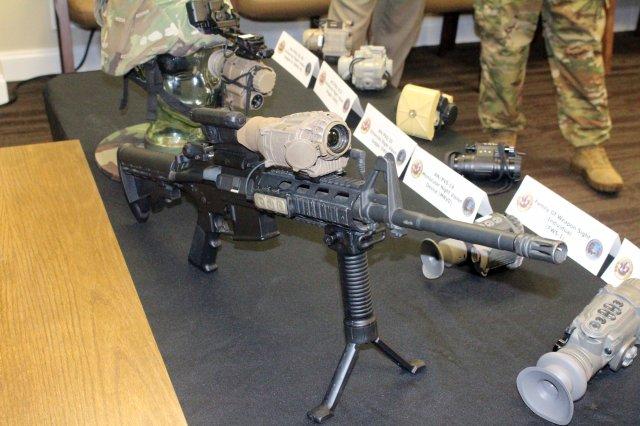 미육군 FWS-I ENVG III 시현