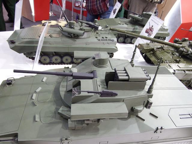 에포하 모듈을 장착한 보병전투차를 테스트 운용을..