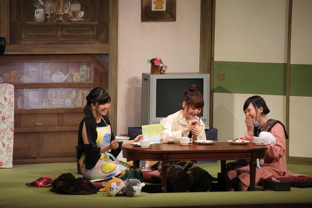 TV 애니메이션 '3월의 라이온'의 이벤트가 개최된 모습
