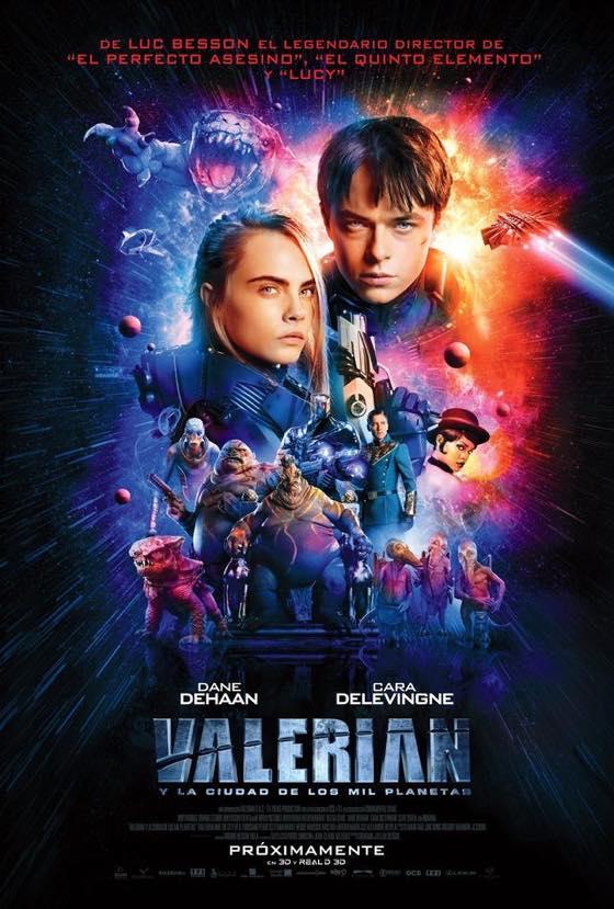 발레리안: 천 개 행성의 도시, 2017 (Valerian and t..