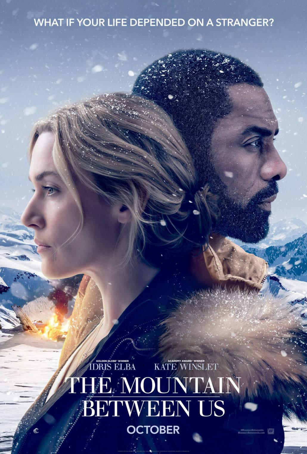 """The Mountain Between Us"" 라는 작품입니다."