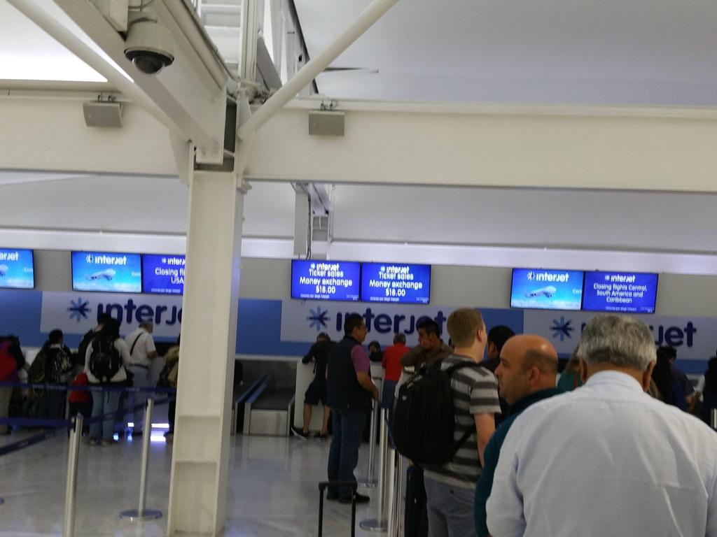 [쿠바] 멕시코 공항에서 아바나로 들어가기