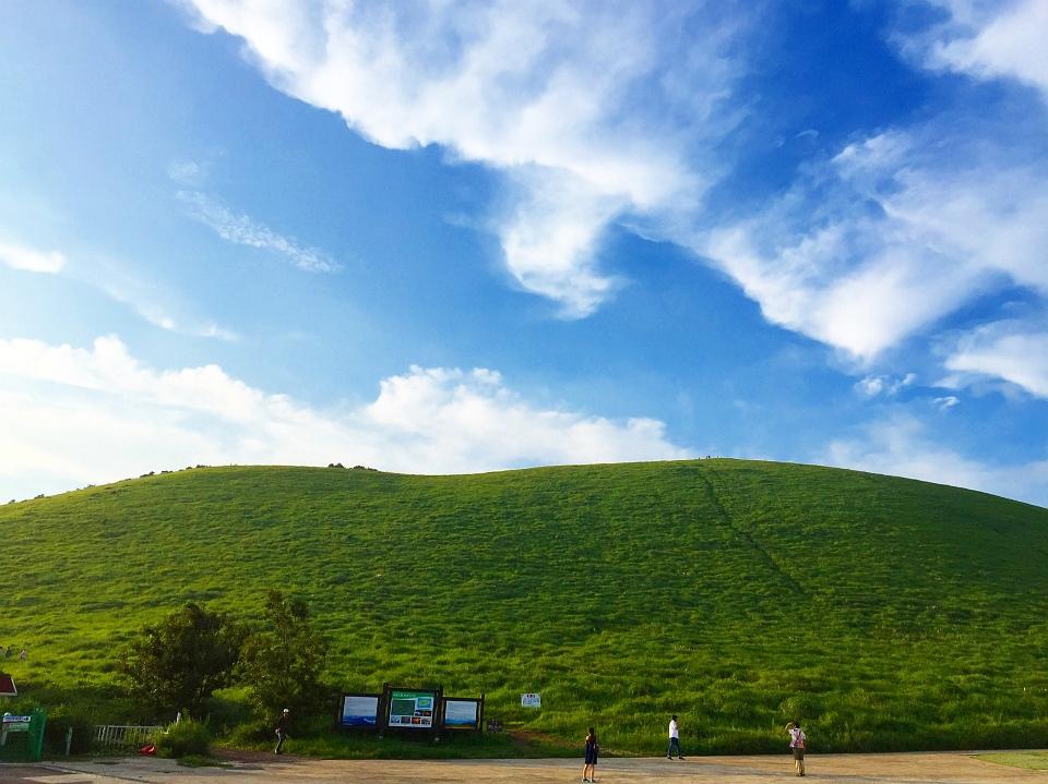 첫 제주도 여행기 (11) - 새별오름 언덕