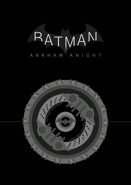 [포스터] 「배트맨: 아캄 나이트」 ─ 배트모빌