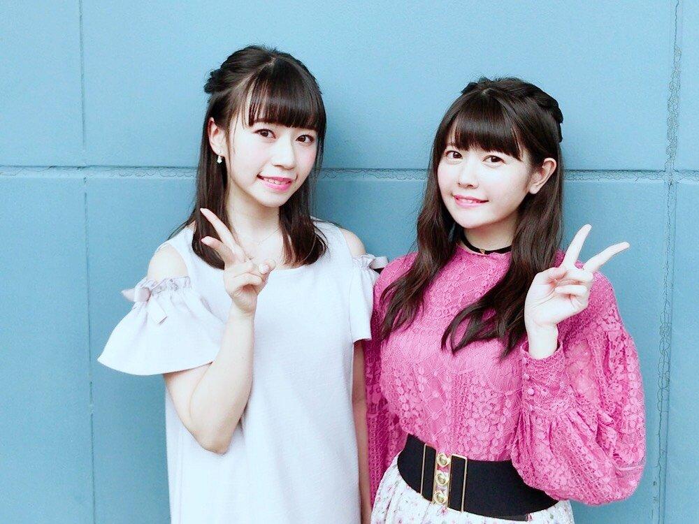 성우 타케타츠 아야나 & 타나베 루이의 사진, 도쿄..