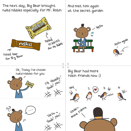 Team Bear:: #3 Mr.Robin