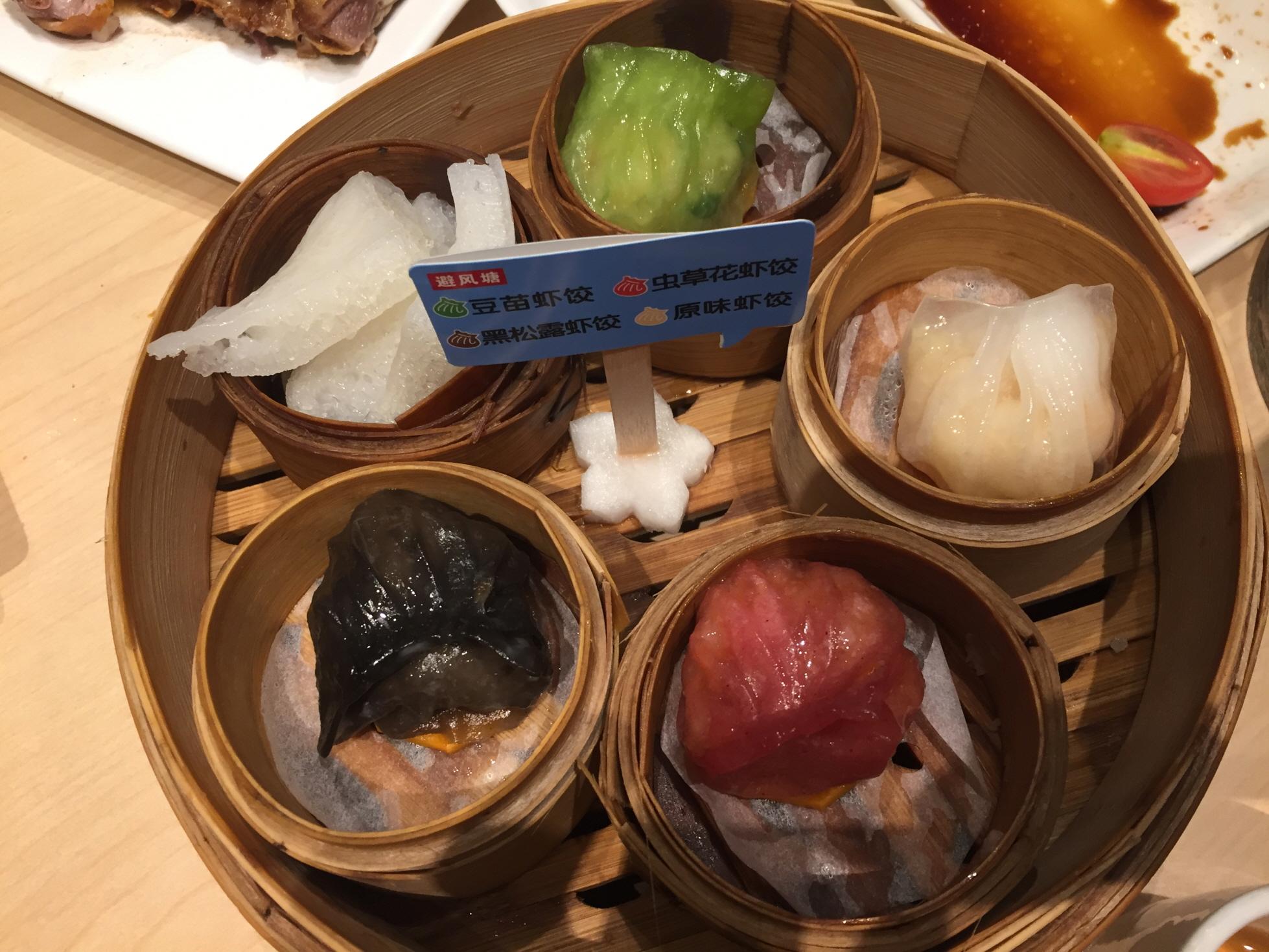 상하이먹방 (2) 저렴한 딤섬 전문점, 비펑탕