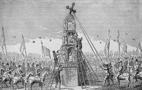 영국 내전의 기원 (번외편)-엘리노어 크로스 논란