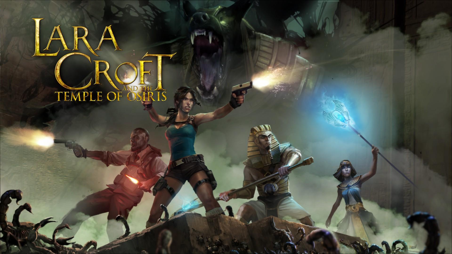 라라 크로포트와 오시리스의 사원- 전투와 퍼즐 2