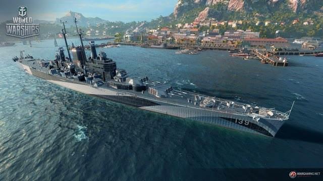 [WOWs] USS 세일럼 공개