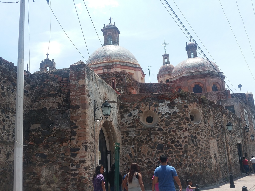 [멕시코] Templo de la Santa Cruz