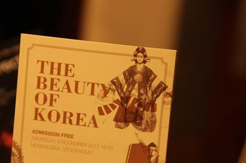 The Beauty of Korea in Musikaliska (어젯..