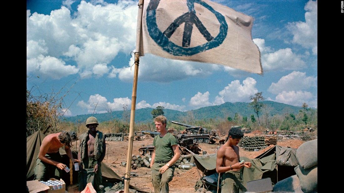[1971년] 베트남 주둔 미군의 상태...