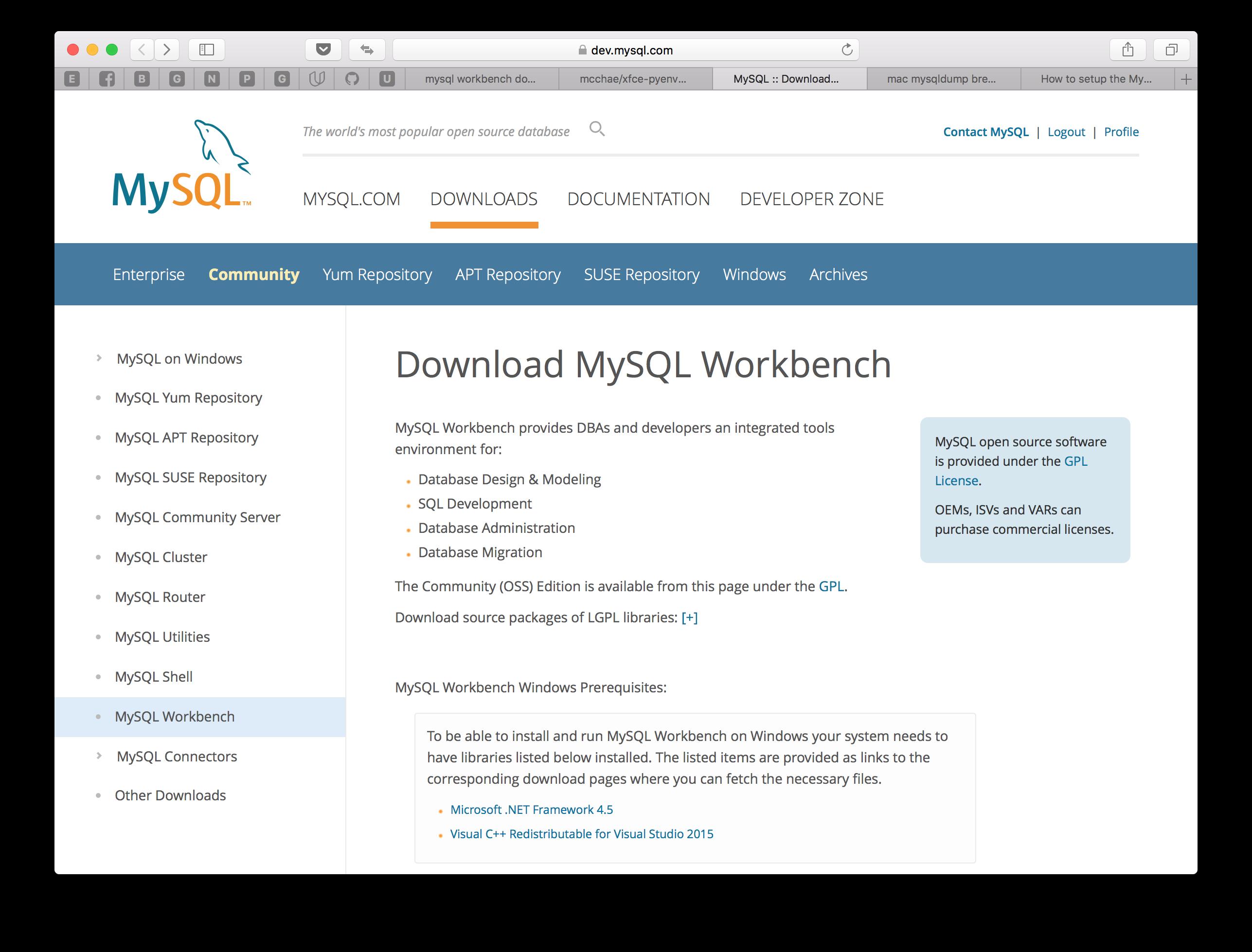 [Mac] mysql 및 mysqldump 명령어 설치하기