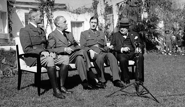 루스벨트와 프랑스 그리고 베트남...