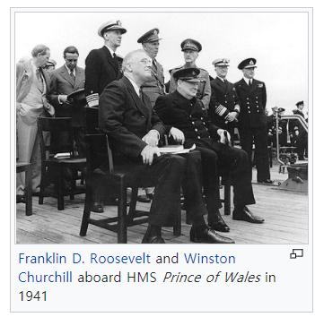 [41년]식민지 문제에 대한 루스벨트와 처칠의 갈등