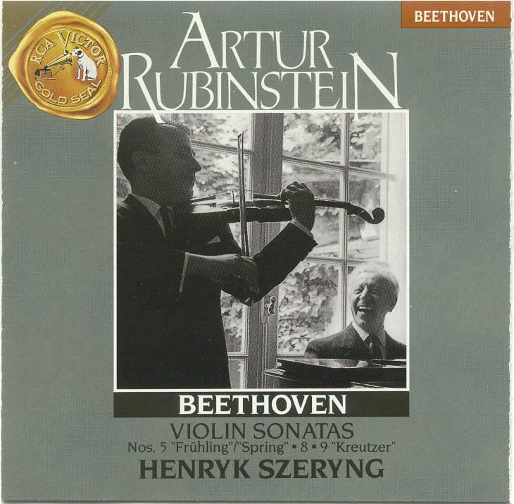 Henryk Szeryng at RCA; Duo & Brahms' Hor..