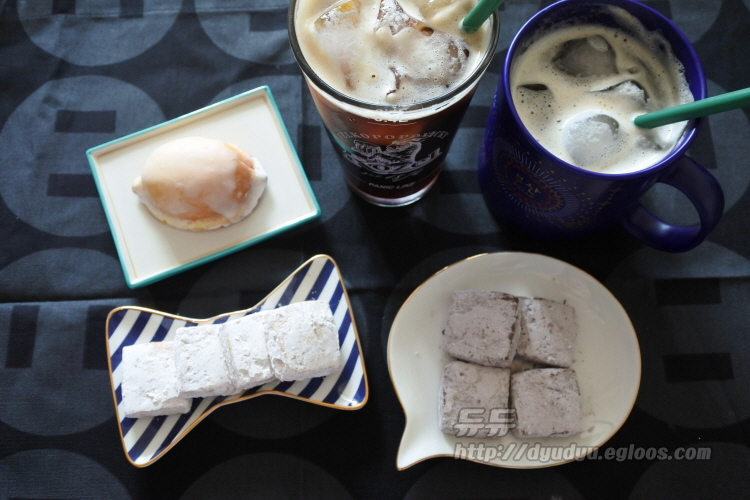 카페 키이로 구움과자 레몬케이크, 바닐라쿠키,..
