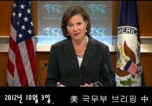 美국무부 대변인에게 질문한 연합뉴스 기자