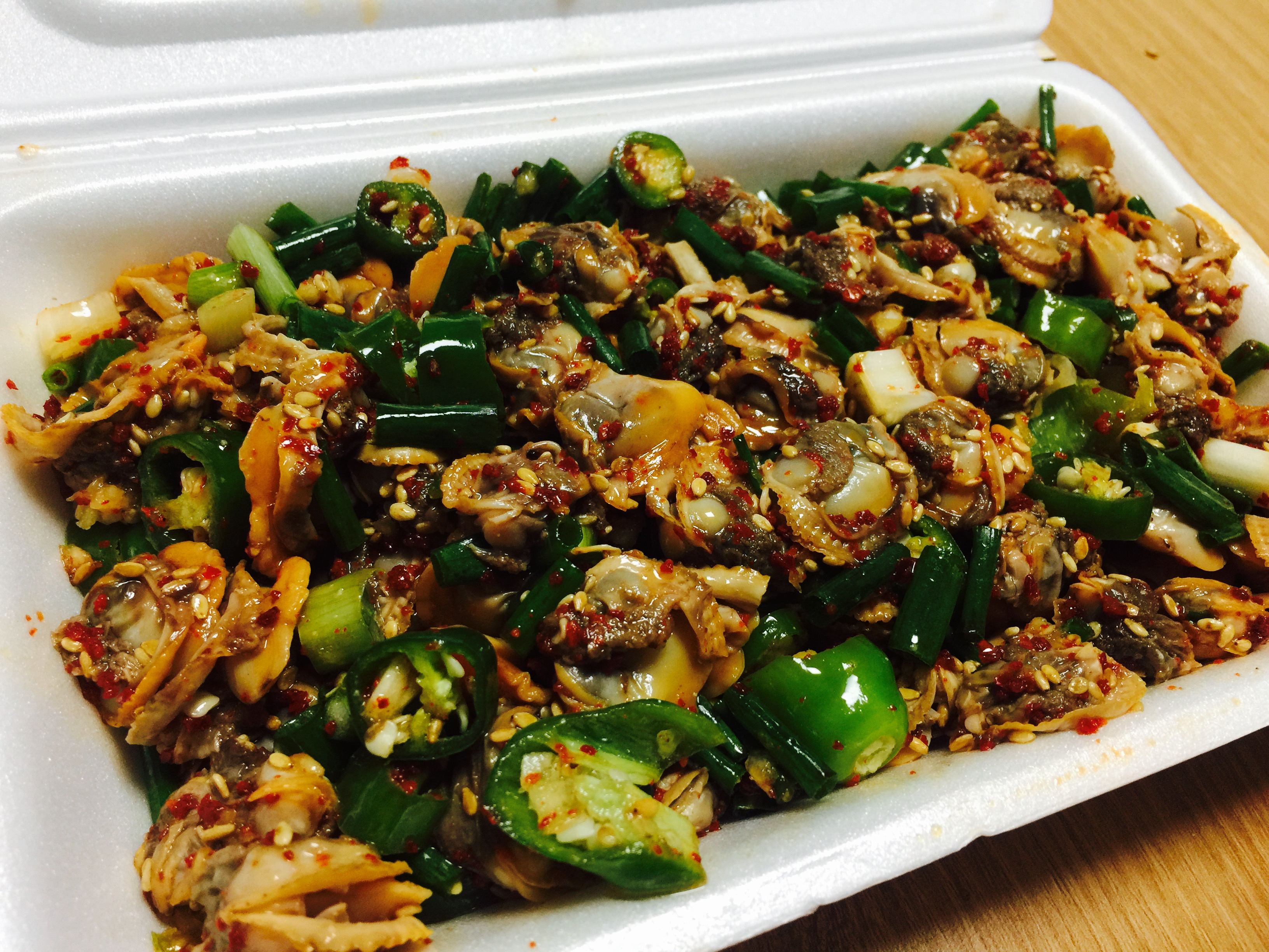 꼬막무침과 꼬막 비빔밥이 맛있는 엄지네 포장마차