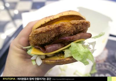 2017.1.3. (4) 맥도날드 기간한정 햄버거 '아메리..