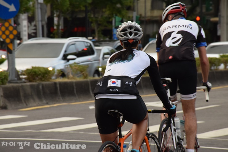대만에서 본 서울-부산 자전거