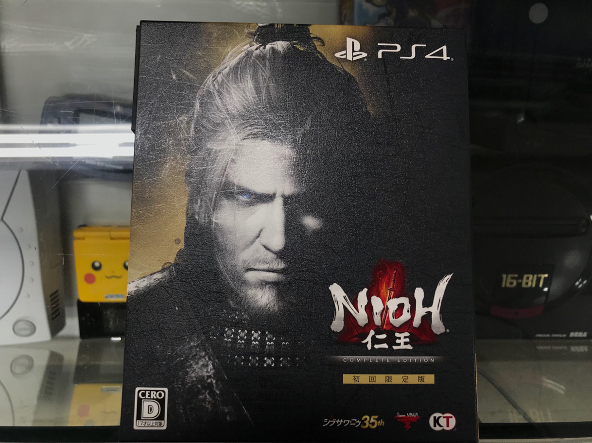 [PS4] 인왕 컴플리트 개봉